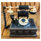 Old looking telephone