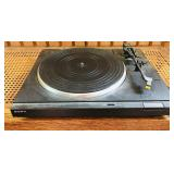 Sony record player, not tested
