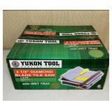 "NEW Yukon Tool 4.5"" Diamond Blade Tile Saw"