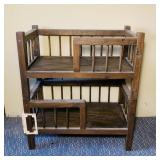 Small Wooden Bunks, they do separate