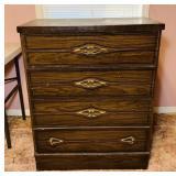 """4 drawer Dresser, 30"""" x 16.5"""" d x 38"""" high"""