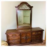 Large Dresser/Mirror matches lot 439