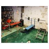 Ultra Gumpac, weight bench, Rowing Machine, Big