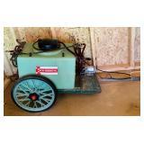 W W Grinder 12 volt Sprayer, pulls behind tractor,