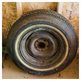 New P215/ 75R15 tire on 5 bolt rim