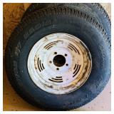 3 Matching ST215/75R14 Titan tires