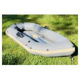 Blow up Raft, Avon, 9 ft x 4 ft, been holding air