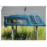 Fiberglass Topper for 8 ft Box, missing back