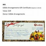 Edible Arrangements Gift Certificate  ($29)