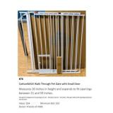Carlson MAXI Walk Through Pet Gate w/ Small Door