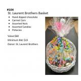 St. Laurent Brothers Basket