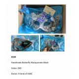Handmade Butterfly Masquerade Mask