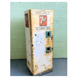 "7 UP Machine, 22"" w x 18"" d x 61"" h"