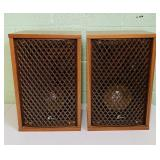 "Sansui Sp-35 Speakers 12"" x 18"" h x 9"" deep"
