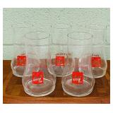 7up Glasses, Set of 5