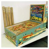 1948 Wisconsin Pinball Machine, Coin Operated
