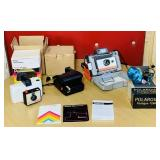 3 Polaroid Cameras and a Flash, Land Camera