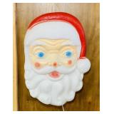 "Empire Lighted Santa Blow Mold 18"" x 25""x 7""deep"