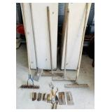 Lot of Mostly Concrete Tools