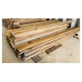 Large Pile of Boards/ Lumber, All Hardwood