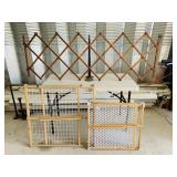 3 Safety Gates, Big one opens to 50""