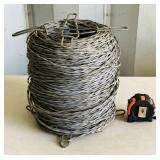 HEAVY Spool Of Fence Wire