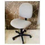 Gray Office Chair, Adjustable Height