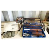 Camping/ Campfire Cooking Lot, Metal Grate,
