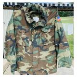 Military Jacket with Liner, Medium