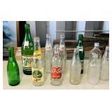 Old Pop Bottles, Tab, O-So, Dew, Pepsi etc