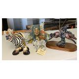 Lot of 4 Figurines
