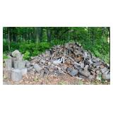 Large Pile of Fire Wood, Mostly or All Hardwood