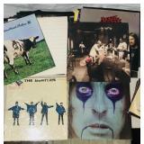 48 LPs assorted Rock Records, Beatles Import etc