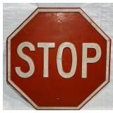 """Embossed Stop Sign, 24"""", HEAVY"""