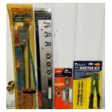 4 Tools, Pry bar set, Serpentine Belt set