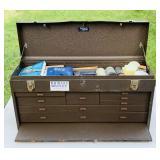 Kennedy Toolbox, 8 drawer plus top, no lock