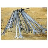 """12 MAC Wrenches, up to 1"""", plus 1 MAC Combo"""