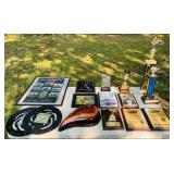 Lot of Motorcycle Plaques, Awards