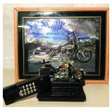 -Motorcycle picture  20x16 -HD desk phone beep
