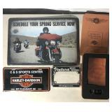 HD Service Place Mat Motorcycle License Cover