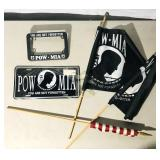 POW lot Motorcycle License Cover  License