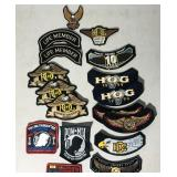 Assorted HD Patches  Some HOG-17 total