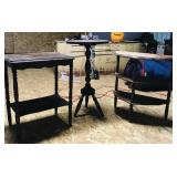 3 Wood Accent Tables