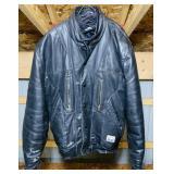 Ski Doo Leather Jacket, size 46, insulated