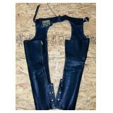 Hudson Leather Chaps, size XS