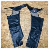 Brooks Leather Chaps, Medium