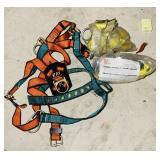 Safety Harness, Lanyard w/dynabrake
