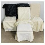 4 Matching Padded Chairs W/Covers