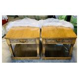2 Lane Matching End Tables, Great condition