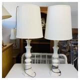 Pair of Matching Ceramic Lamps
